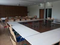 Mehrzweckräume für bis zu 150 Personen