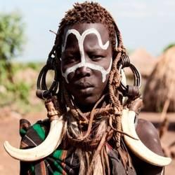 Einwohner Äthiopiens